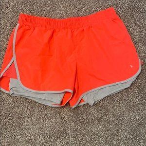 Danskin Running Shorts Orange